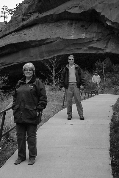 The family, minus the photographer (me) and Mark, April 2013, taken with Kodak TMax film.