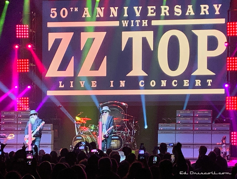 ZZ Top, New Year's Eve, December 31, 2019