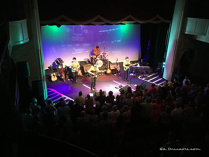 Liverpool Legends, a Beatles tribute band, at the Granbury Opera House, June 8, 2018
