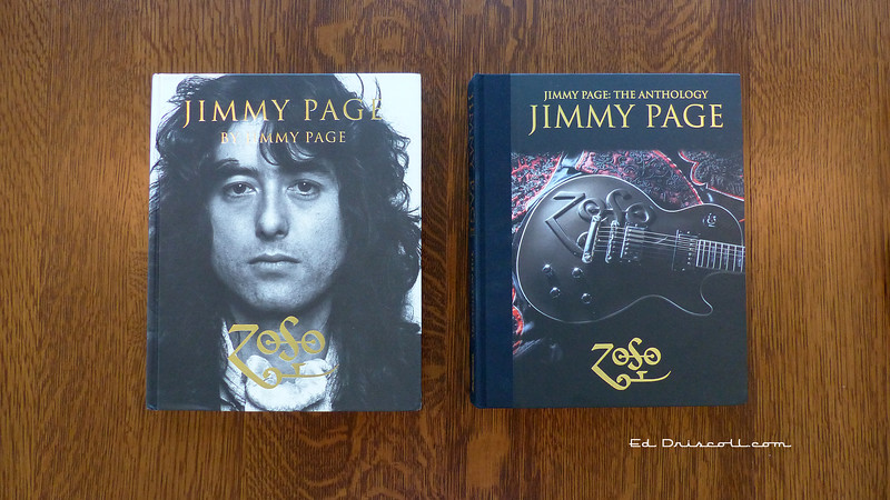 Jimmy Page's Coffee Table Books for Review Article, 11-5-20.