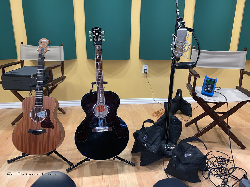 Recording Acoustic Guitars, Thursday, 9-24-20