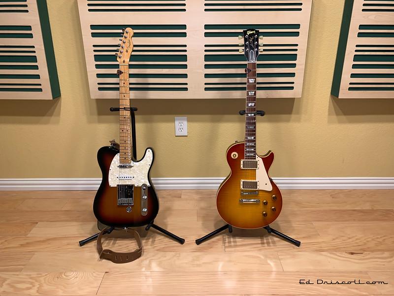 1998 Fender Nashville Telecaster and 2000 Gibson Les Paul Historic 10/9/20
