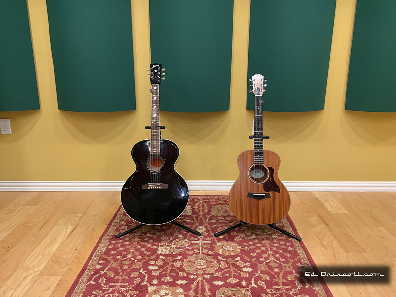 2019 Taylor Nashville Tuned Mini GS and 2007 Gibson Everly Brothers Acoustic 8/12/19