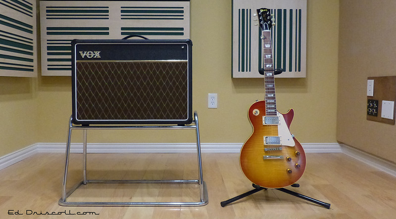 2000 R9 Les Paul and Vox AC-15, 1-20-17