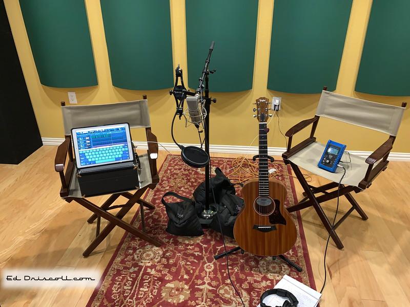 Recording Nashville Tuned Taylor Mini GS 8-18-19