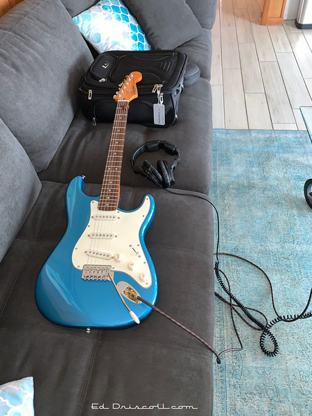 Lake Placid Blue Squier Strat Upon Arrival, Friday September 18th, 2020