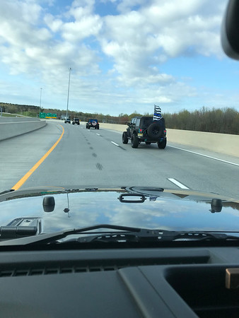 JEEPS BACK THE BLUE 2018