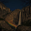 Moonbow at Yosemite Falls, Yosemite National Park