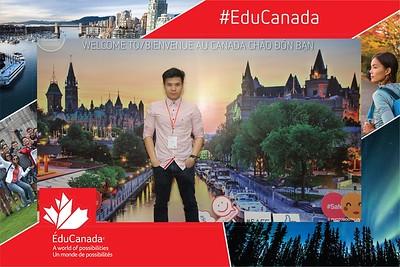 EduCanada   11th EduCanada fairs 2019 in Vietnam instant print photo booth @ Novotel Hotel Da Nang   Chụp ảnh in hình lấy liền Sự kiện tại Đà Nẵng   Photobooth Da Nang