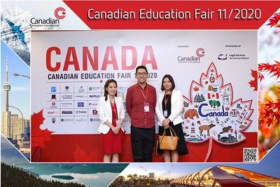 EduCanada | Canadian Education Fair 11/2020 instant print photo booth @ Lotte Hotel Saigon | Chụp hình in ảnh lấy liền Hội thảo du học | Saigon Photobooth