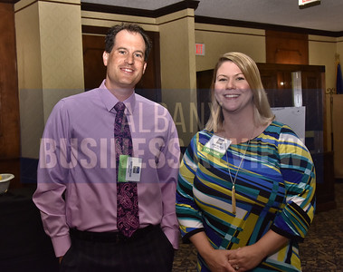 Scott Gresens and Jenny Majkut from National Grid