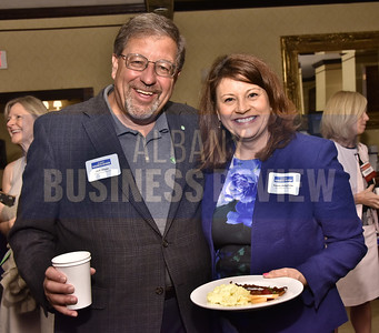 Jeff Stone from Kinderhook Bank and Susan Zongrone from Key Private Bank