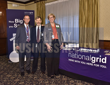 Representatives from sponsor National Grid