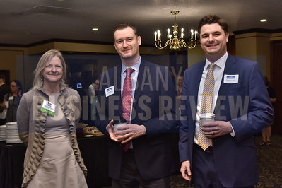 Amyjean Robbins from Mosaic Associates Architects, Andrew Mauer from SMRT Architects and Engineers and Zachary Conley from Cresa
