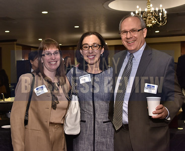 Denise Zieske and Alicia Perez Osur from SCCC with Mark Mitchell from NYSERDA