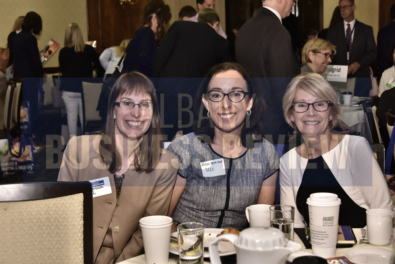 Denise Zieske and Alicia Perez Osur from SCCC with Cindy Applebaum, ABR's market president and publisher