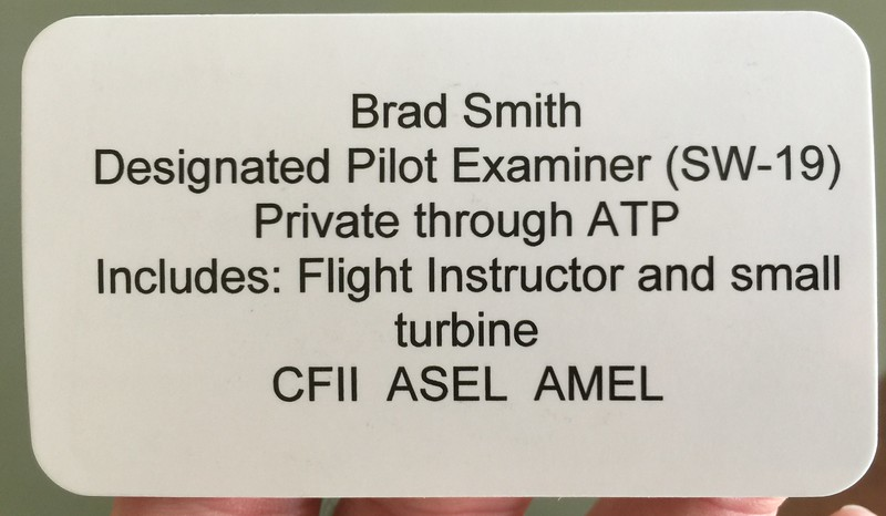 Totals:  <br /> 7.4 hours of instruction spread over 5 flights to get ready for the checkride.  34 days between first flight and checkride.  Could have done it in two days if a) it wasn't 100*F all the time and b) I had that kind of free time.<br /> <br /> Closing thoughts:   <br /> Late summer isn't the ideal time to do this.   Lora, Larry, Laurie and Ian were knowledgable, professional instructors.  Ian is all over the idea of having an RV-4, and even joined the forums.  Username: AceMEI<br /> <br /> Any RV time you have will translate well over to a plane like this.  If I can get this rating you certainly can.<br /> <br /> The plane is based at KGKY.<br /> <br /> Identify, Verify, Gear, Flaps, Pitch for Vyse,<br /> dr<br /> <br /> PS:  My brain is still a little mushy and the right leg is still tired.