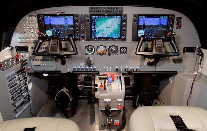 Cessna Grand Caravan EX cockpit