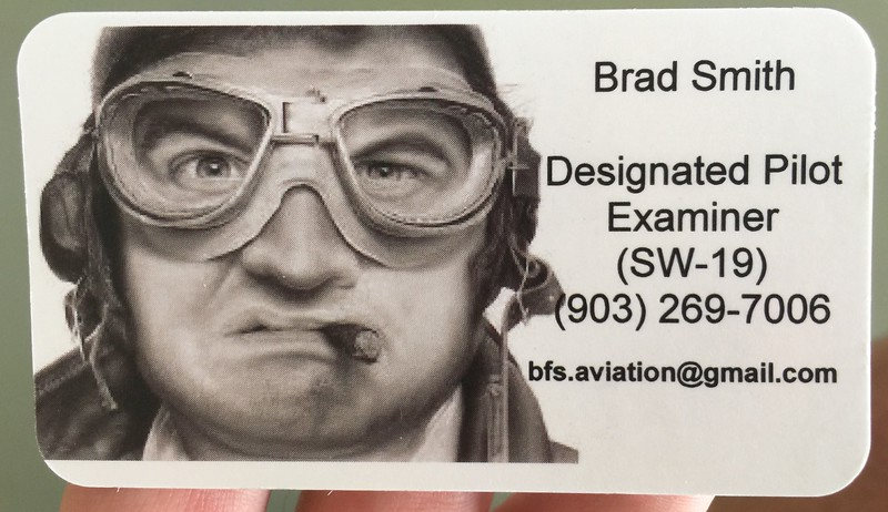 Maybe the best business card I've ever seen....