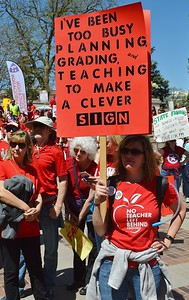 teachers-students march Denver (4).
