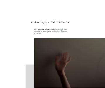 Copy of Copy of Antología del Ahora