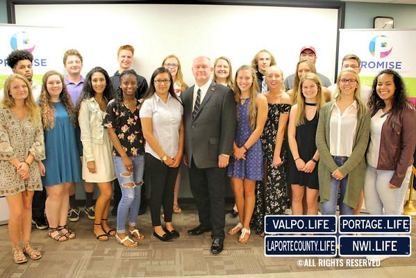 Michigan City Promise Scholarship Recipient Celebration 2017