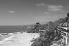<h3>1000 Step Beach</h3> <ul> <li>Filters on lens     <ul>     <li>Circular Polarizer     <li>Gradient Neutral Density     </ul> <li>Photoshop Work     <ul>     <li>Black and White Adjustment Layer     </ul> </ul>