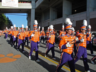 Clemson band