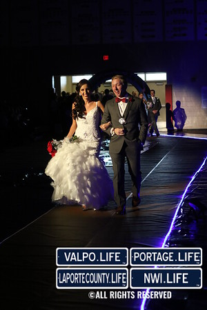 Crown Point High School Prom Grand March 2015