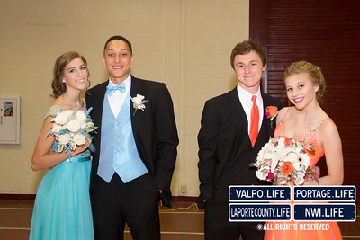 Munster High School Prom Grand March 2015