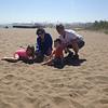 Tot Shabbat, Beach, 2013, Rabbi Julie