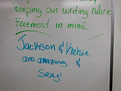 Jackson or Kelsie's work. 27-Oct-11