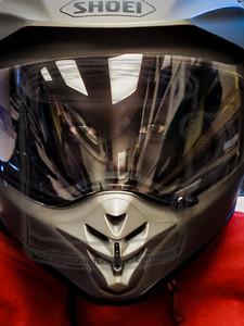 Buk Buk (9) in my helmet.