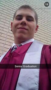 This selfie from Andrew Raskiewicz was taken at his graduation from Central Montco Technical High School. #MontcoGrad14
