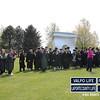 PNC Graduates prepare for the annual photograph with Chancellor Dworkin.