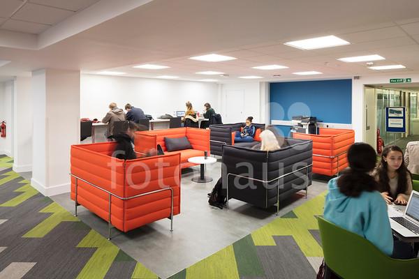 Hartley Library Level 3 Refurbishment, University of Southampton