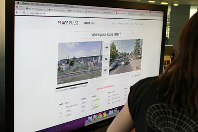 Which place looks safer?  Place Pulse