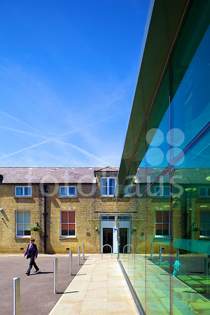 Kimbolton School, dining hall extension