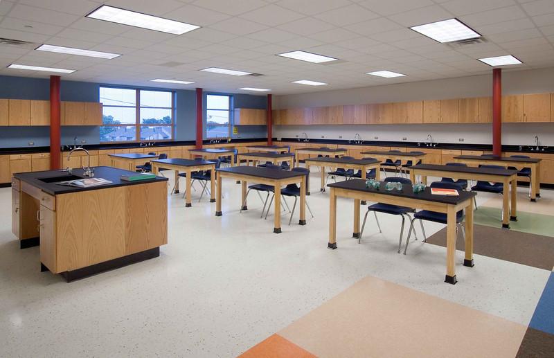 Tasby science classroom