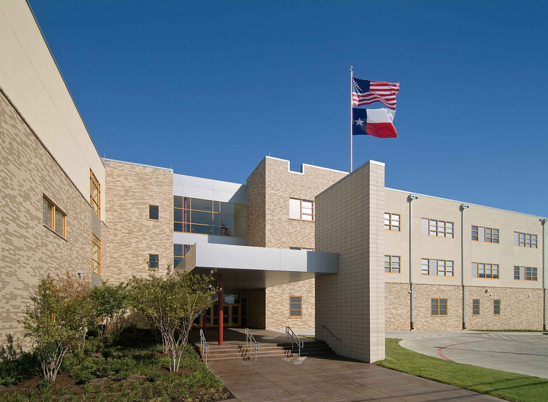 Tasby Middle School Main Entry