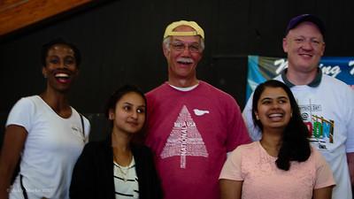 Michelle L-D, Dipika D., Me, Aruna D,. Natham M