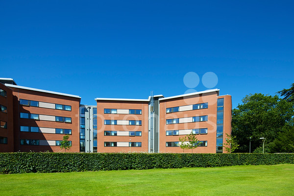 Mackinder and Stenton halls of residence, University of Reading, Berkshire