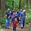 Leading the charge on a Vendovi forest trail. Photo Gene Helfman