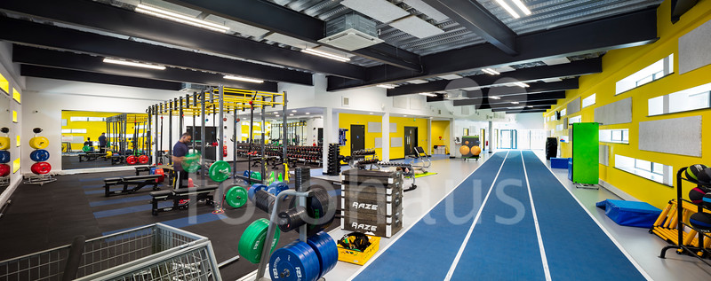 Olympia Fitness Centre and Student Centre Re-Clad