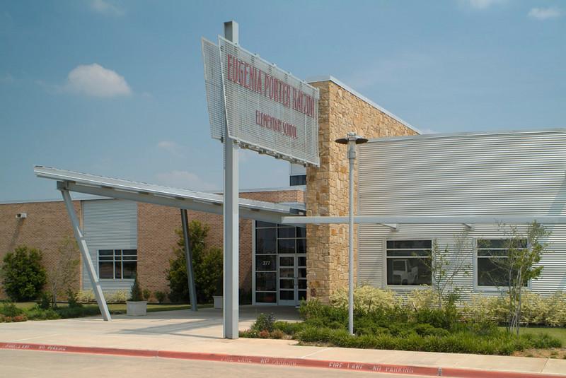 Rayzor Elementary School, Denton ISD.  Client:  Charter Builders.  Architect:  SHW Group, Dallas.