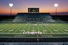 Murphy HS Stadium (Tim Kimbrough Stadium), Murphy Texas. 9/2003 (shot on Provia slide film).  Client:  construction company