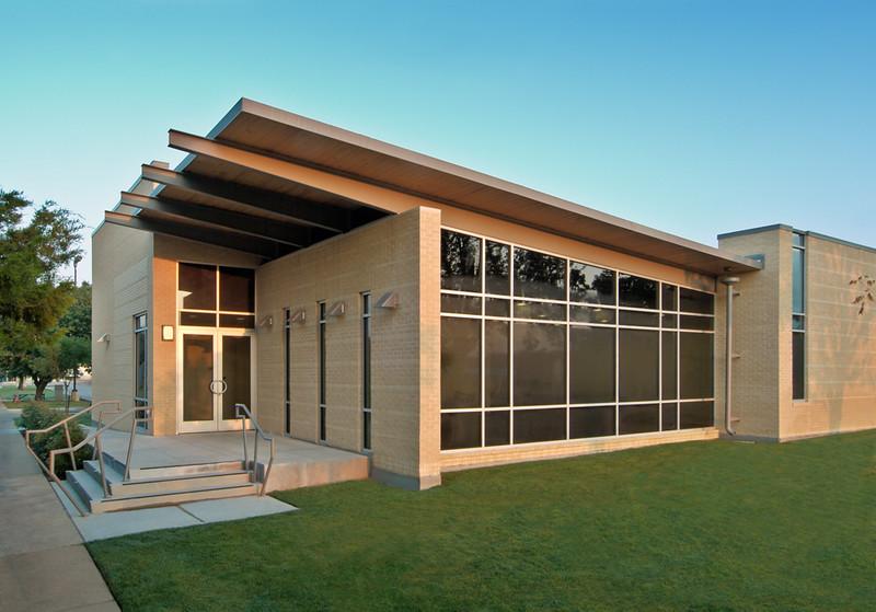 Texas Wesleyan University, Science & Technology building.   Ft. Worth AIA Merit award 2007.