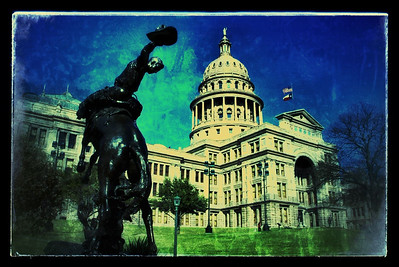 Snapseeded Texas Capitol