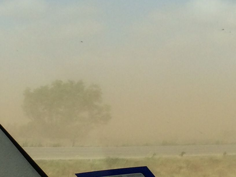 West Texas Dust Storm