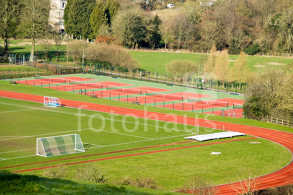 Athletics Pavilion, Athletics Track and Tennis / Netball courts, Marlborough College